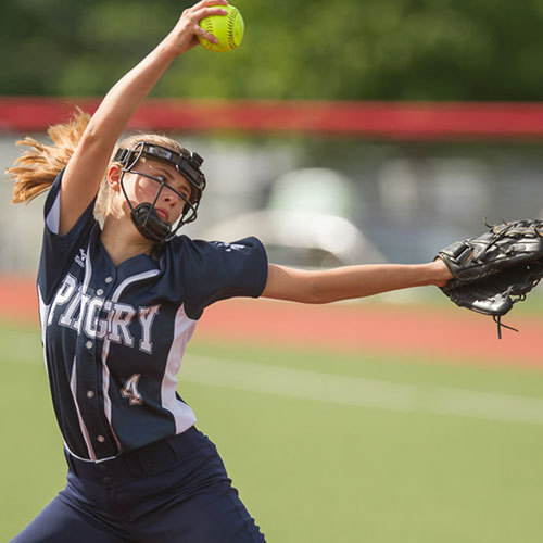 Big Blue Beat: Girls' Varsity Softball Team
