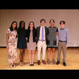 Miroslav Bergam '19 Wins LeBow Oratorical Competition