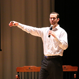 Andrew Onimus of Minding Your Mind Provides Resources and Inspiration at Gilbert H. Carver '79 Memorial Lecture