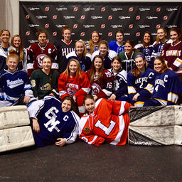 Four Pingry Girls Compete in NJ All-Star Ice Hockey Game