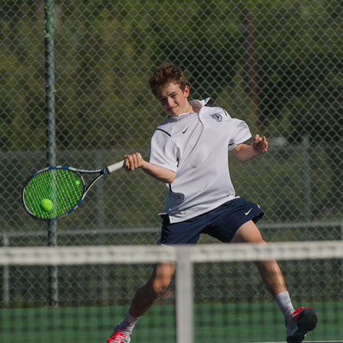 Big Blue Beat: Boys' Varsity Tennis Team