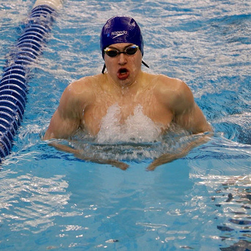 Matt Fallon '21 Sets Two New Meet Records at YMCA National Championships