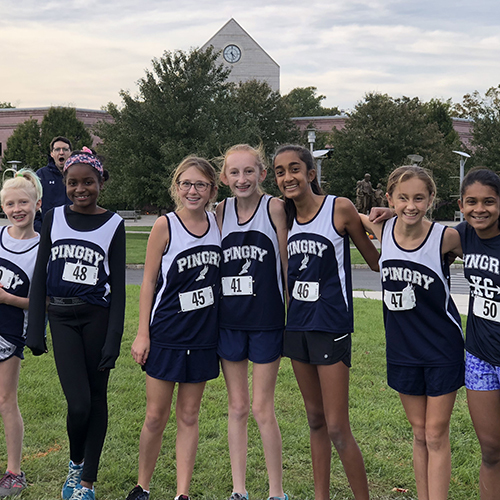 Middle School Girls Win the Ed Scott Invitational
