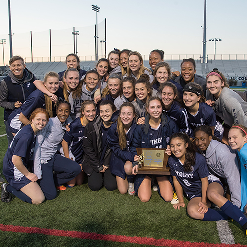 Girls' Soccer Wins State Crown