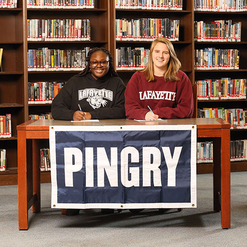 Two Pingry Girls Sign NCAA Division I National Letters of Intent