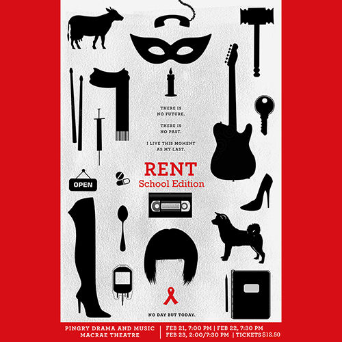 RENT Tickets on Sale Now!