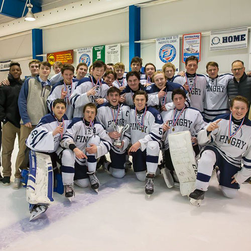 Boys' Ice Hockey Earns Skyland Conference Tournament Victory