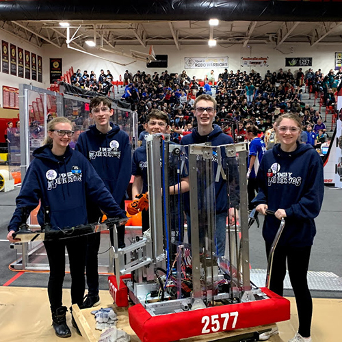 Pingry Robotics Takes First at FIRST!