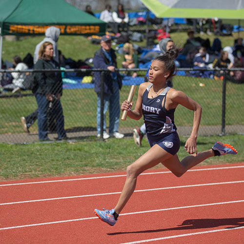 Girls' Track & Field Team Dazzles at Somerset County Relays