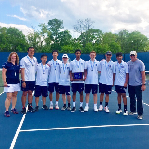 Boys' Tennis Wins Sectional Crown