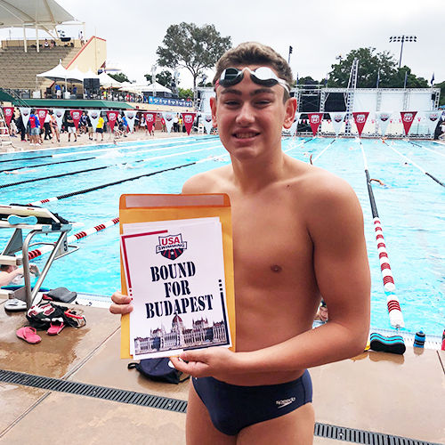 Matt Fallon '21 Qualifies for the 2019 World Junior Championships