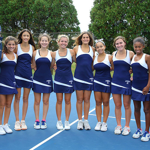 Girls' Tennis Caps Off a Dominant Season