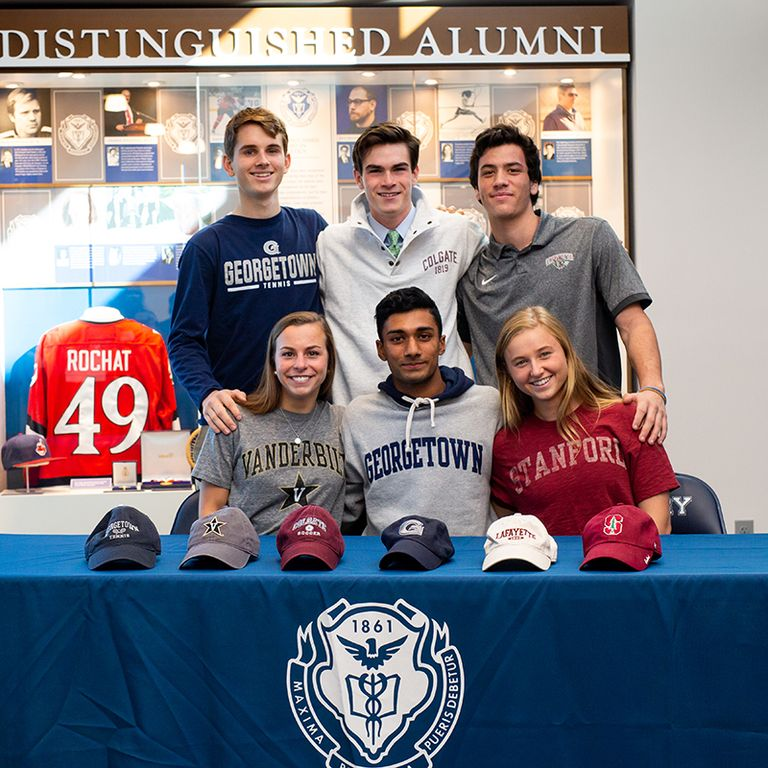 Six Seniors Sign NCAA Division I National Letters of Intent