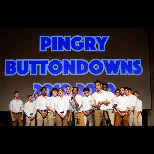 The Buttondowns Take the Stage—With the BIP