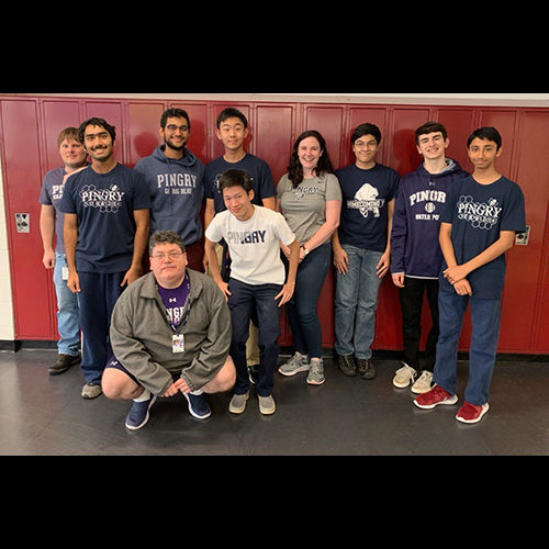 In Our Own Words: The Quiz Bowl Team