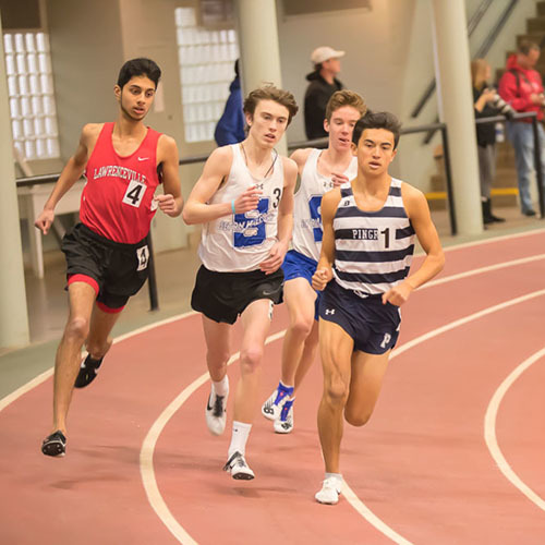 Big Blue Beat: Boys' Winter Track & Field