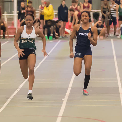 Big Blue Beat: Girls' Winter Track & Field