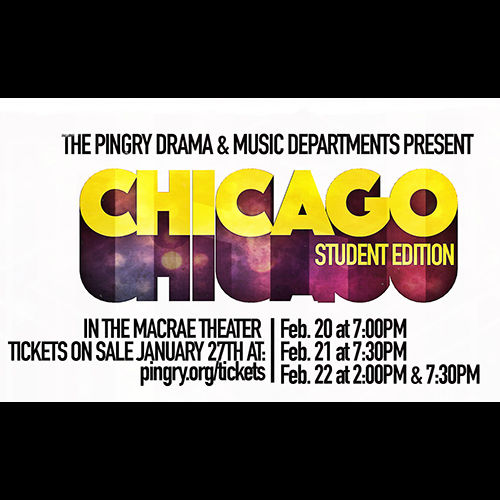 Winter Musical Tickets on Sale!