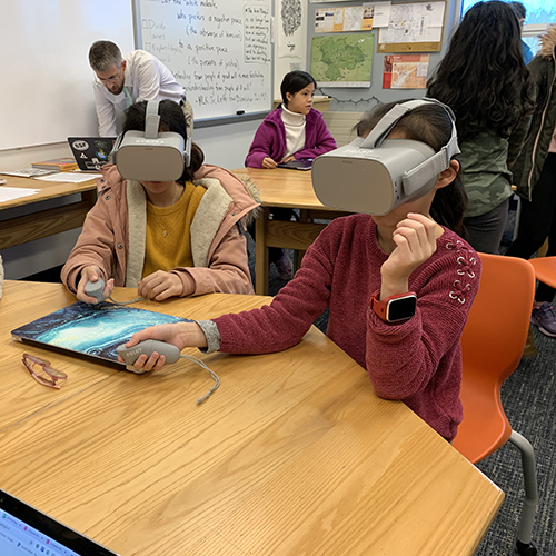 Virtual Reality Brings Spanish Class to Life for Middle Schoolers