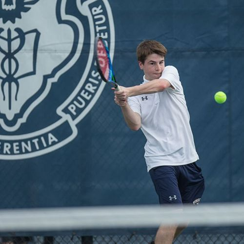 Big Blue Beat: Boys' Varsity Tennis