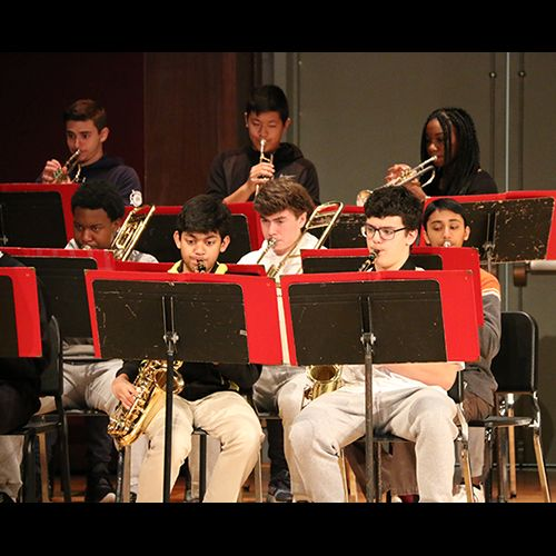 Jazz Ensemble Shines on Stage
