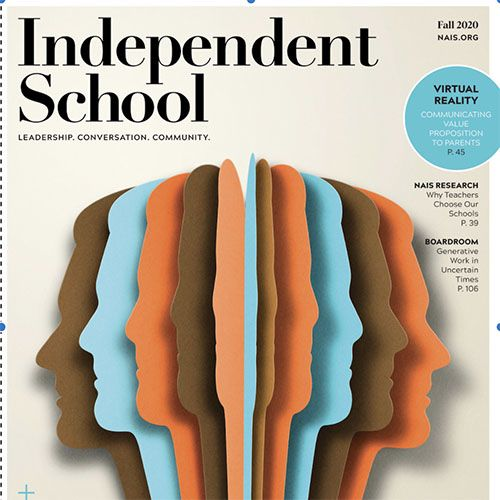 Dr. Thu-Nga Morris's Work Published in 'Independent School' Magazine