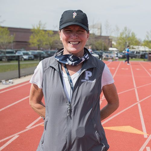 Sarah Christensen P '10, '12 Named New Head Coach of Girls' Cross Country Team