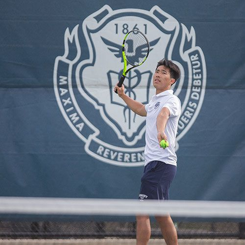 In My Own Words: Tennis Player Hugh Zhang '21