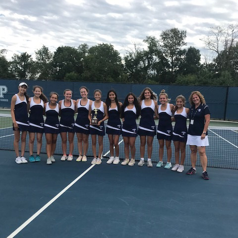 c2e478e37d581 Girls  Tennis Earns 2018 Somerset County Tournament Win