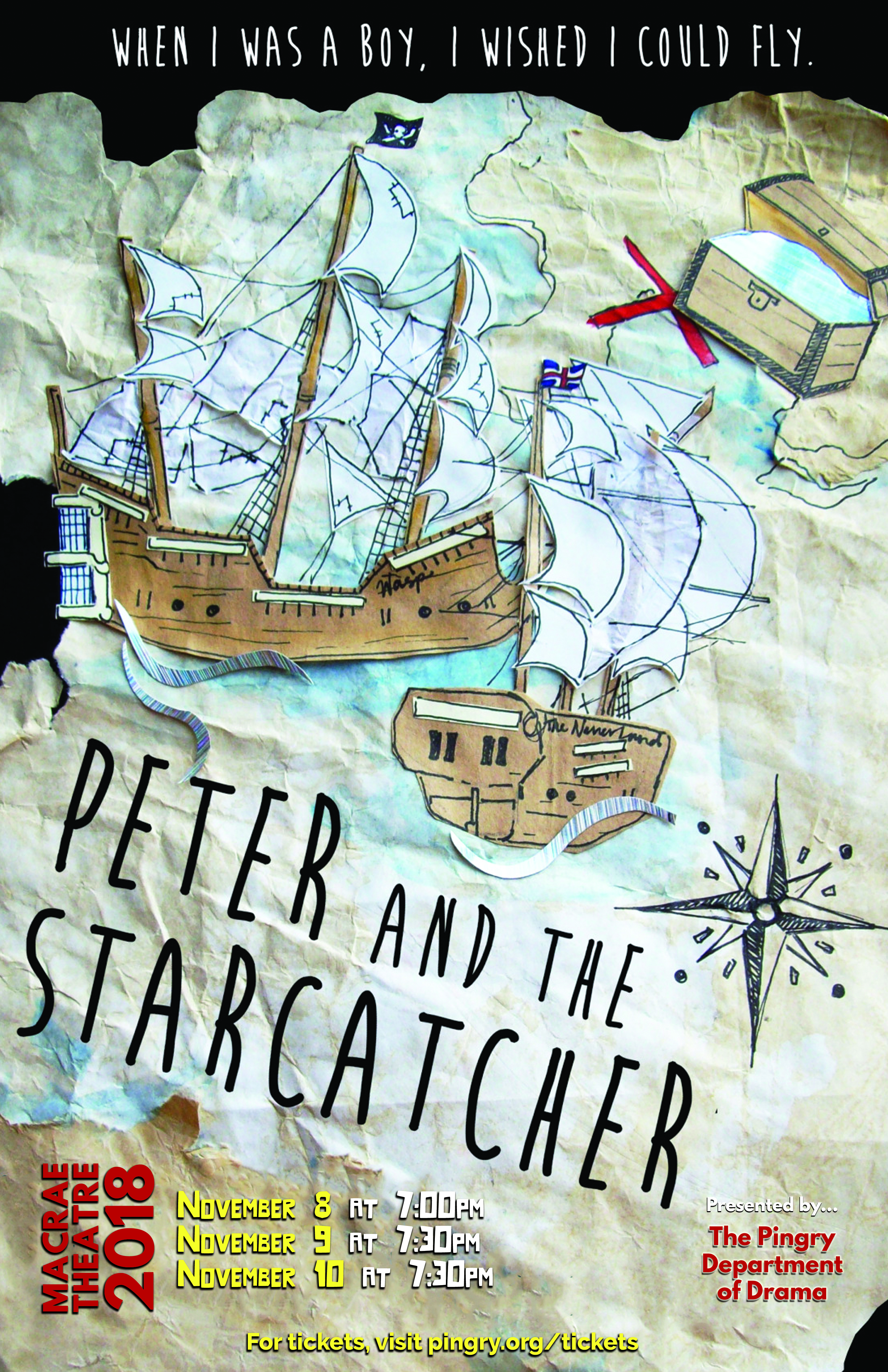 Peter and the Starcatcher - Tickets On Sale Now!   News Details