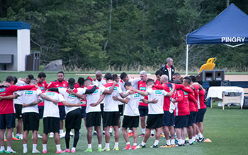 best service a7bba a00b4 Costa Rica National Soccer Team Latest to Practice at Pingry ...